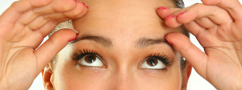 Improving through eyelid surgery & brow lift