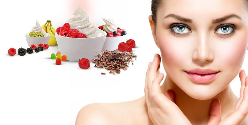Skin can Benefit from Yogurt