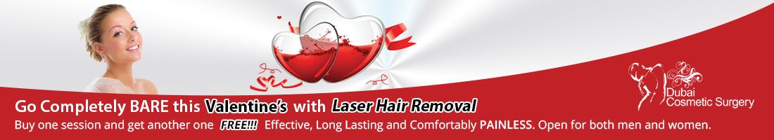 Buy One Laser Hair Removal Session and Get another FREE