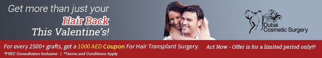 Get 1000 AED Coupon for Hair Transplant Surgery
