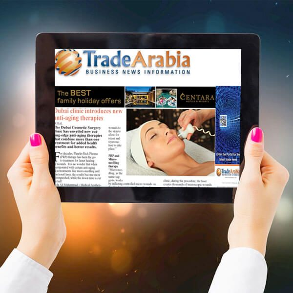 Dubai Clinic Introduces new Anti-aging Therapies – Trade Arabia