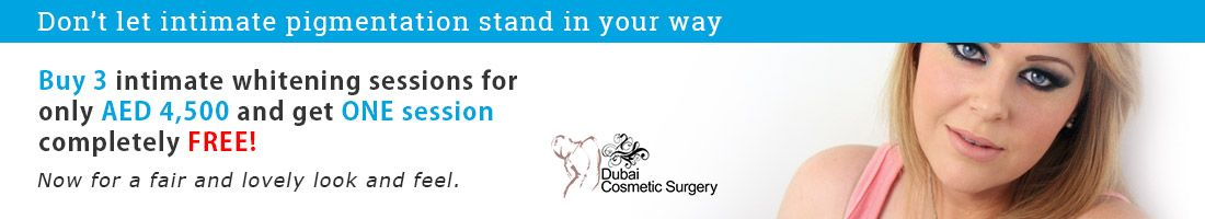 3 Intimate Pigmentation Whitening Sessions for AED 4,500