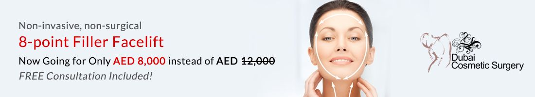 8-point Filler Facelift for Only AED 8000