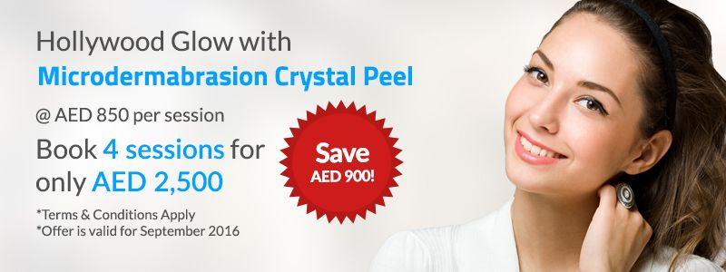 SAVE AED 900 on Microdermabrasion