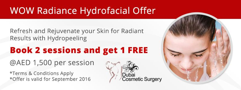 WOW Radiance Hydrofacial Offer
