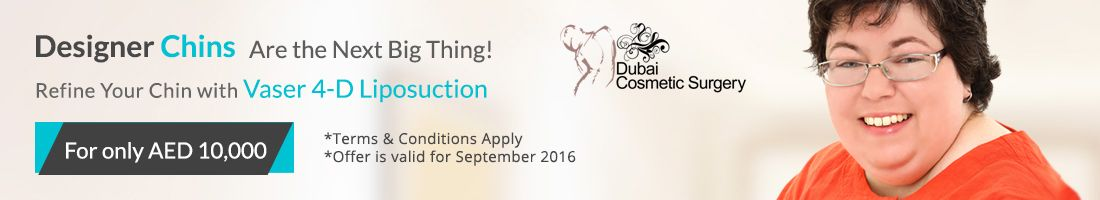 Refine Your Chin with Vaser 4-D Liposuction For AED 10,000