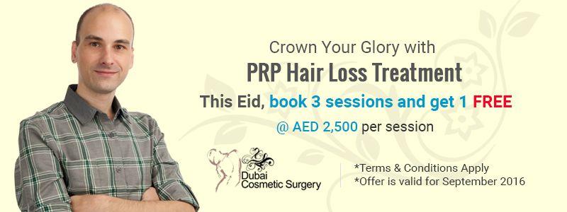 prp hair loss offer