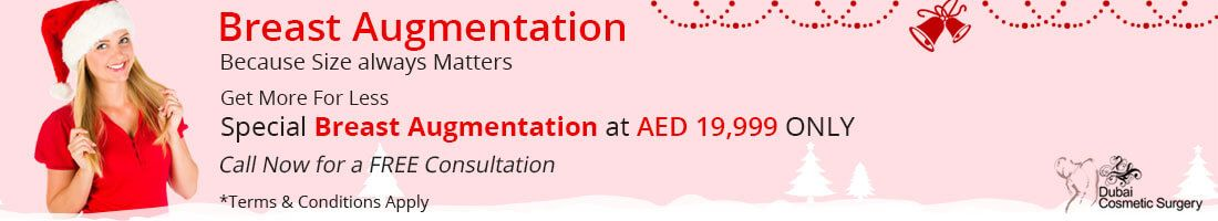 Breast Augmentation for AED 19,999
