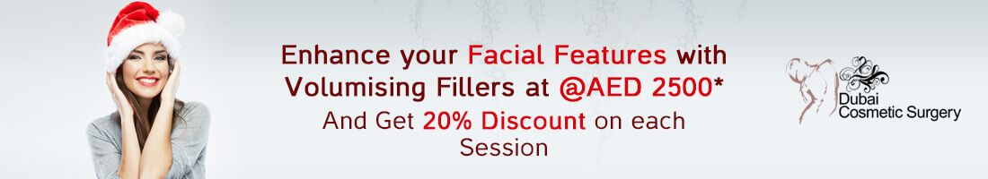 Facial Fillers for AED 2,500