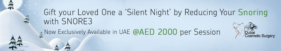 Snoring Treatment for AED 2,000/Session