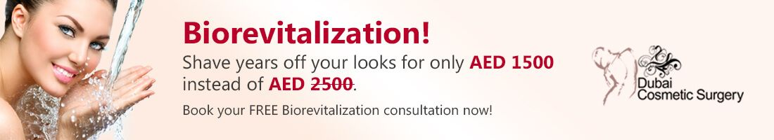 Skin Biorevitalization for AED 1,500