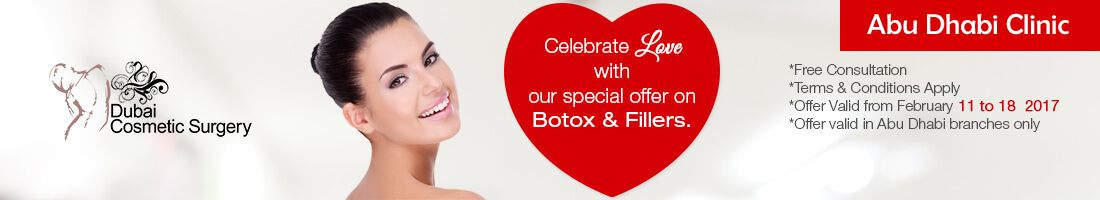 50% Off on Botox & Fillers | Valentines Special – Abu Dhabi