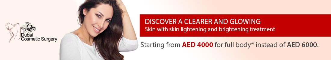Skin Whitening at AED 4,000