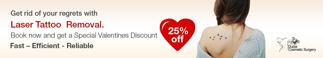 25% OFF on Laser Tattoo Removal