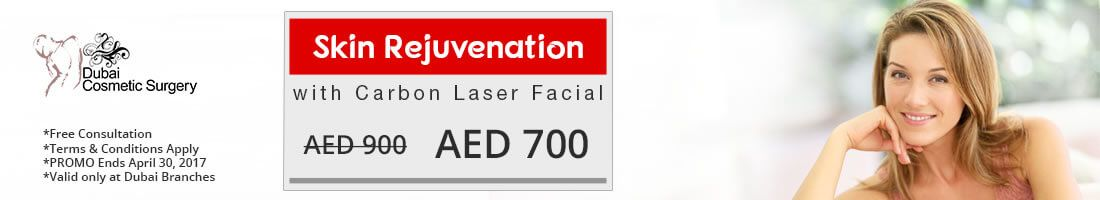 Skin Rejuvenation with Carbon Laser Facial at AED 700