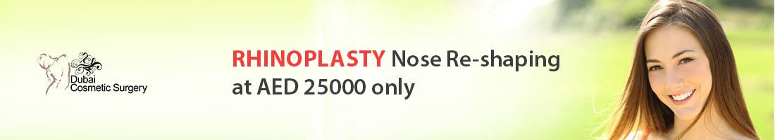 Re-Shape Your Nose at AED 25,000