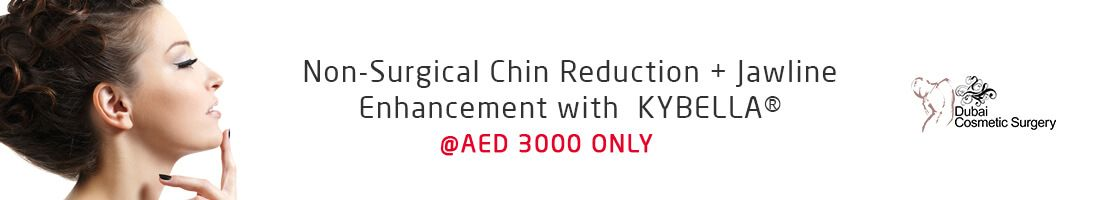 Chin Reduction & Jawline Enhancement @AED 3000