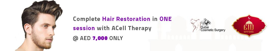 Complete Hair Restoration With ACell Therapy For AED 7000