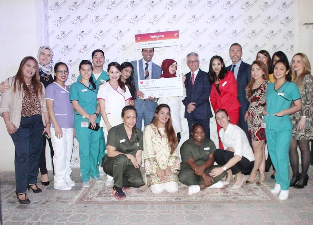 Appreciation Evening at Dubai Cosmetic Surgery clinic