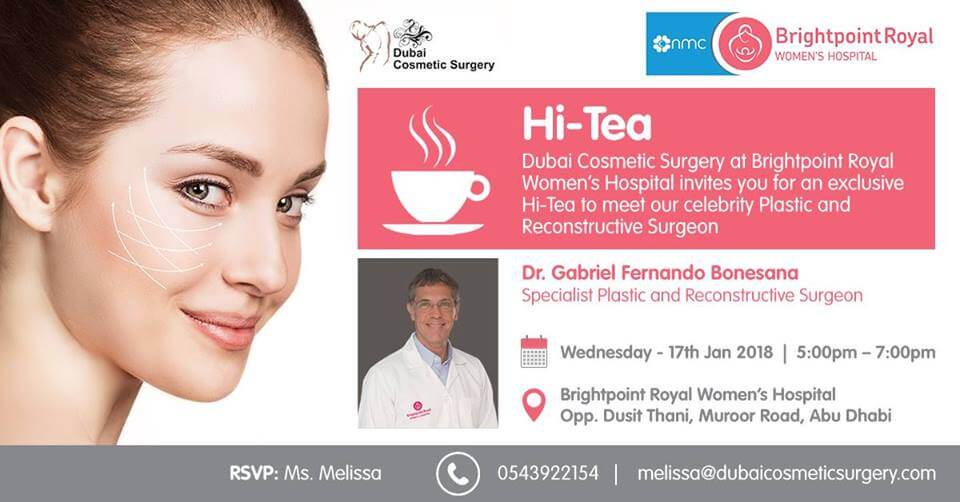 Let's Enjoy Hi-Tea With Our Celebrity Plastic And Reconstructive Surgeon