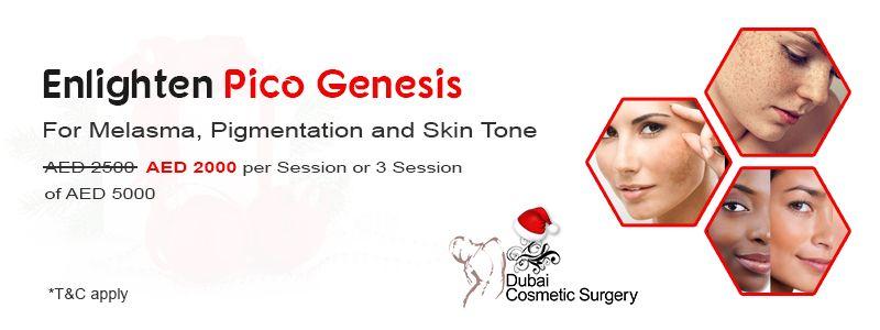 Enlighten Pico Genesis – For Melasma, Pigmentation and Skin Tone