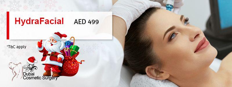 HydraFacial AED 499