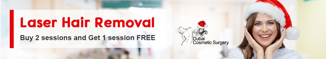 Laser Hair Removal – Buy 2 sessions and Get 1 session FREE